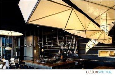 Interior & Lighting design of 'one'- sushi restaurant - Designspotter   'one'- sushi restaurant-Israel   Scoop.it