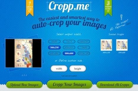 Cropp.me, cadrer et rogner ses images en ligne et en masse   Outils Community Manager   Scoop.it