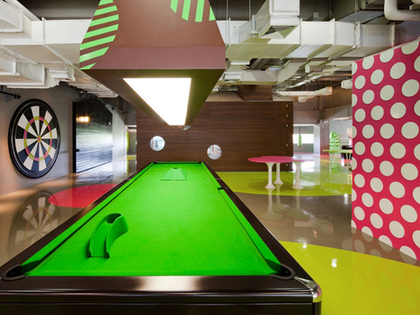Take A Look Inside This Stunning New Student Lounge At Bangkok University | Learning Spaces for 21C Education | Scoop.it