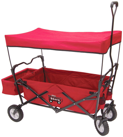 Folding Red Wagon-thewagonstore.com | The Wagon Store | Scoop.it