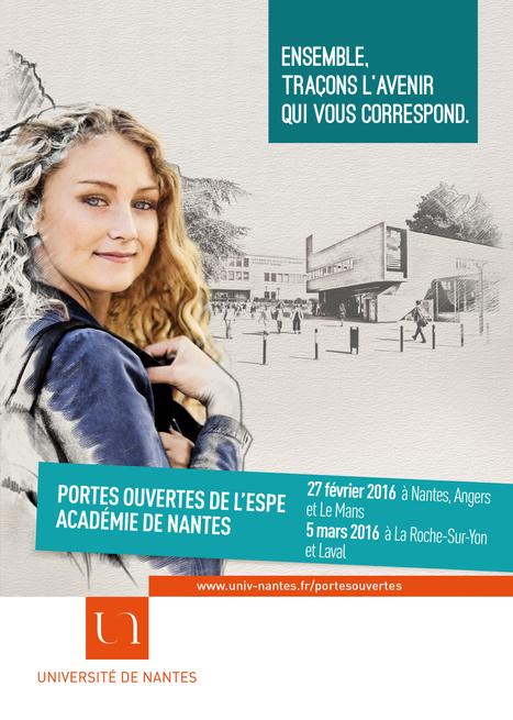 Université de Nantes - École supérieure du Professorat et de l'Education (ESPE) - Les 5 sites de formation de l'ESPE ouvrent leurs portes | Le multimédia et le tourisme | Scoop.it