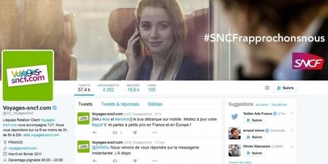 Voyages-sncf.com 'davantage joignable' sur Twitter | News on Tourism | Scoop.it