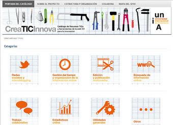 CreaTICInnova: catálogo de recursos TIC y de la web 2.0 | Educación 2.0 | Scoop.it