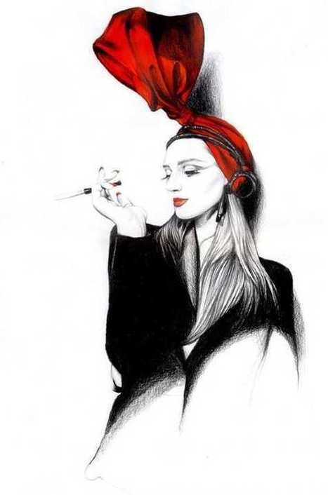 #Ilustraciones de moda | Diseño y Recursos Web | Scoop.it