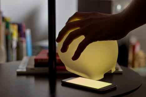 Lampp usa o ecrã do teu smartphone como fonte de luz, transformando-o numa enigmática iluminação que se adapta em função do ambiente. | Criatividade, inovação, marketing | Scoop.it
