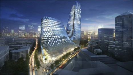 morfoLL: Zhengzhou Mixed Use Develpment - Trahan Architects | Architecture and Design | Scoop.it