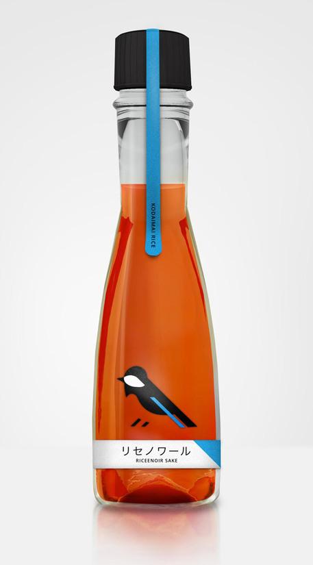 Ricenoir Sake Designed by Konrad Sybilski | Packaging Design Ideas | Scoop.it