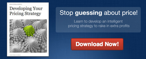 Why Your Secret Pricing Strategy is Overrated | Management | Scoop.it