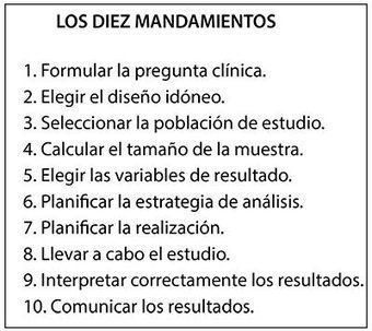 Los diez mandamientos  #Bioestadisticas #epidemiologia #metodologia | Salud Publica | Scoop.it