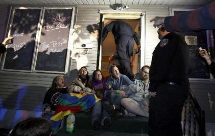 Nonviolent Cruz Family Supporters Targeted with Riot Charges Weeks After Arrests | Occupy Homes MN | Austerity? NO!! | Scoop.it