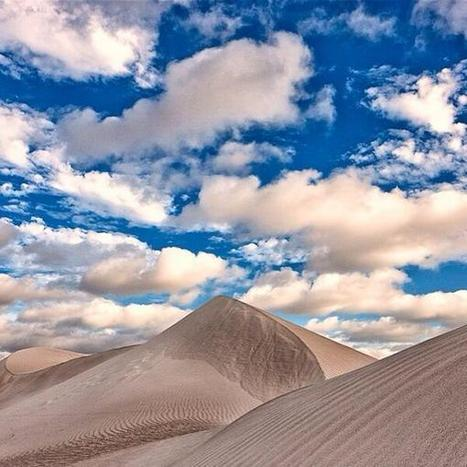 Twitter / Australia: Fluffy white clouds complimenting ... | desert photography | Scoop.it