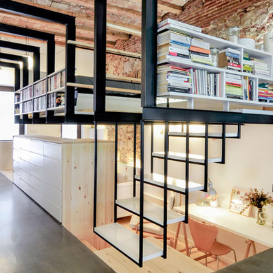 Renovation of an apartment in Barcelona | Homey home | Scoop.it