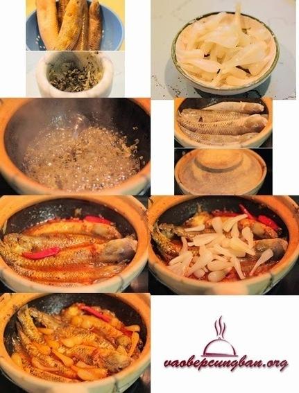 Cách làm cá Bống kho niêu củ kiệu, Ớt khô - Vào Bếp học nấu ăn ngon   Blog dạy nấu ăn ngon   Dịch vụ   Scoop.it