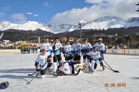 Argentina Ice Hockey! Olympic Sized Rink in Ushuaia « Fire and Flames | Argentina, Zach Potts | Scoop.it