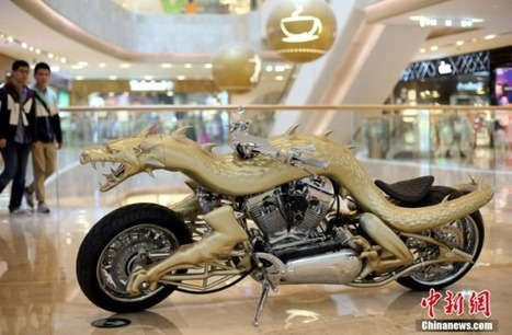 Insane dragon bike brought to life via the power of 3D printing | 21st Century Innovative Technologies and Developments as also discoveries, curiosity ( insolite)... | Scoop.it