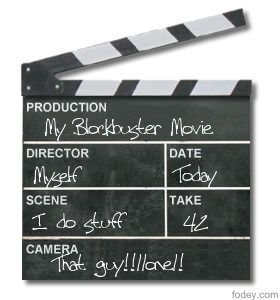 The Movie Clapper Board Generator | DSC Library | Scoop.it