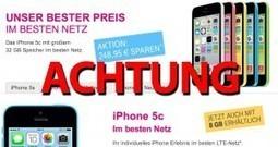 Vorsicht Falle: Sonderaktion 8GB iPhone 5c bei Telekom!   iPhone News   Scoop.it