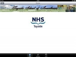 NHS Tayside Anaesthesia medical app provides collection of anesthesia guidelines | Medical Apps | Scoop.it