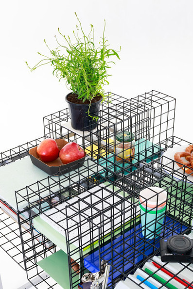 Ying Chang takes graphic design's grid system into three dimensions | Are Woman better at Sales | Scoop.it