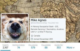 The 2014 Geomatics Twitter Rankings   danieldemonceau   Scoop.it