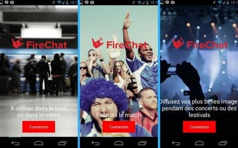 FireChat : Sms sans réseau, ni Internet | Freewares | Scoop.it