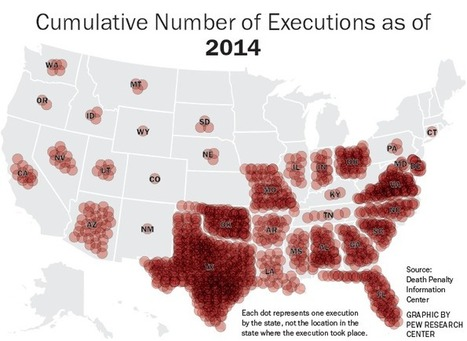 Number of Executions in EEUU Since 1977 | #Dataviz #DeathPenalty | e-Xploration | Scoop.it