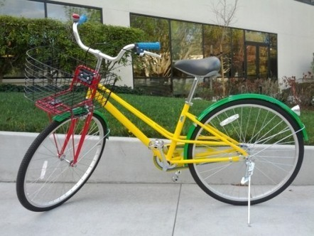 Seen where engineers installed the bike's easel? | Binterest | Scoop.it