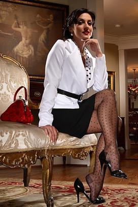 Swiss Dot Stockings | Fashion Hosiery | Scoop.it