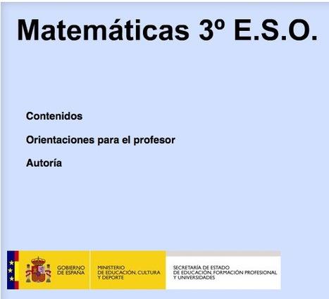 Matemáticas 3° E.S.O.   EDUDIARI 2.0 DE jluisbloc   Scoop.it