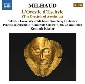 Naxos releases a major Milhaud project from the University of Michigan | OperaMania | Scoop.it