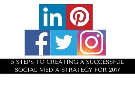 5 Steps to Creating a Social Media Strategy for 2017 | AtDotCom Social media | Scoop.it