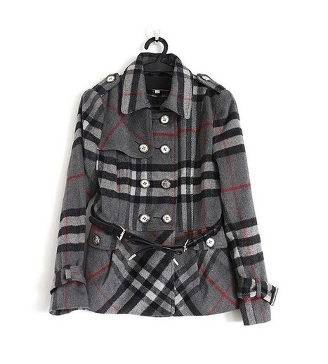Burberry_Women_Woolen_Check_Coats_Grey.jpg (JPEG Image, 720×800 pixels) - Scaled (85%)   Burberry Coats Outlet Sale,Burberry Coats For Women Sale online.   Scoop.it