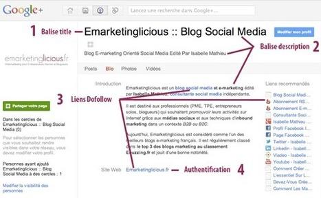 Comment Optimiser Votre Page Google+ Pour Le Référencement ? | médias sociaux | Scoop.it