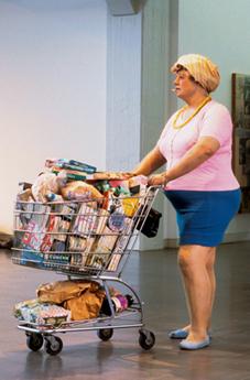 Duane Hanson: Supermarket lady   Histoire des arts à Orlinde   Scoop.it