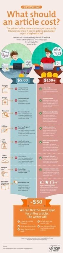 Rédaction d'articles Copywriting | Infographie SEO | Logiciel veille ... | Infographies | Scoop.it