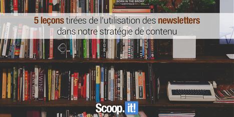 L'utilisation des newsletters dans notre stratégie de contenu | Médias sociaux | Scoop.it