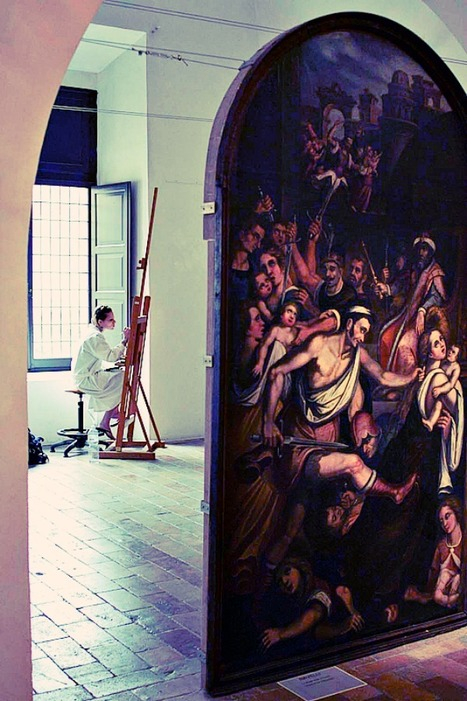 Art Restoration in Le Marche: Passion – and a Bit of Madness | Le Marche another Italy | Scoop.it