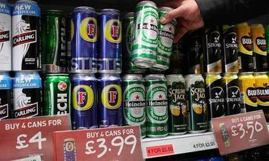 Minimum unit price for alcohol proposal shelved   Test Press Summaries   Scoop.it