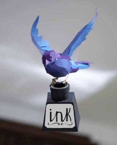follow friday :: paper birds by andy singleton | Paper Art | Scoop.it