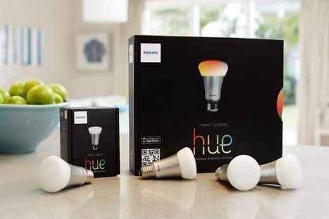 Philips : Des ampoules LivingColors pour un décor original | PixelsTrade Webzine | Business Apps : Applications in-house | Scoop.it