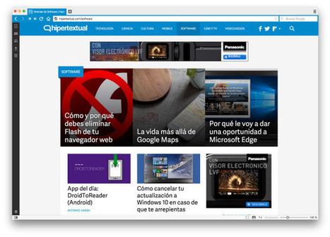 El navegador Vivaldi soporta extensiones de Chrome | TECNOLOGÍA_aal66 | Scoop.it