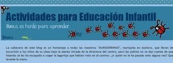 Educación y Blogs (EyB): Actividades para Educación Infantil. | Boletín Biblioteca Ciencias de la Educación. Universidad de Sevilla | Scoop.it