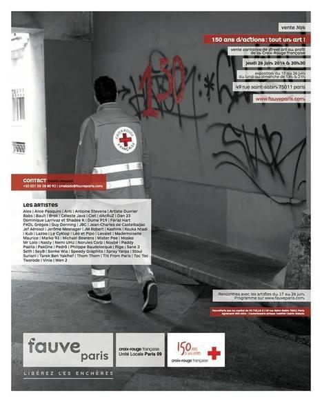 Tarek participe à 150 ans d'actions : tout un art ! | Les créations de Tarek | Scoop.it