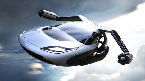 The coolest flying car concept has helicopter blades and an electric motor | CulturaDigital | Scoop.it