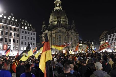 Allemagne : regain d'affluence aux manifestations anti-immigration @razki030775 | 694028 | Scoop.it