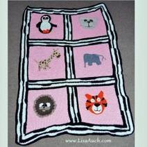 Behind the Scenes Peek at the Making of My Freehand Crochet Zoo Animal Blanket | Crafting and Crafts | Scoop.it