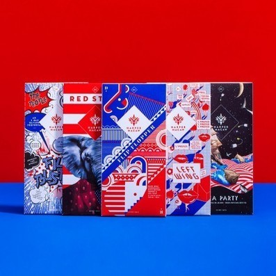 Design Army creates political packaging for American chocolate | D_sign | Scoop.it