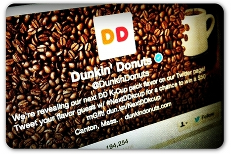 Dunkin' Donuts year-end push on social media set records | Articles | Home | Social Media Articles & Stats | Scoop.it