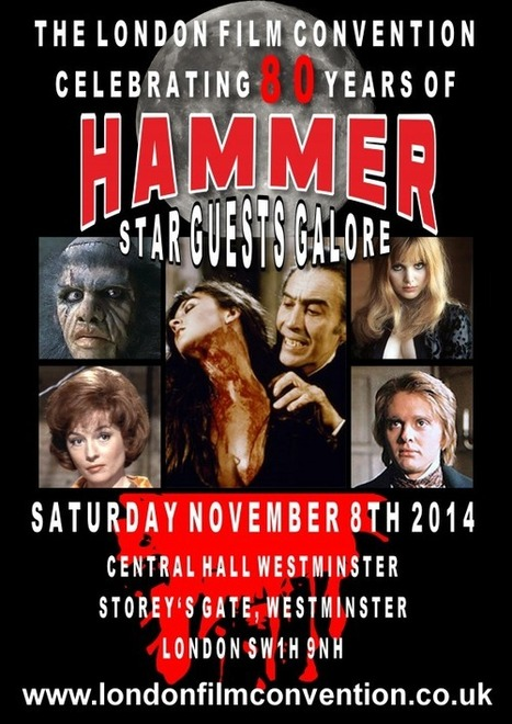 HAMMER FILMS AND CAROLINE MUNRO – TOGETHER AGAIN! | Classic Horror Campaign | Hammer Horror Podcast | Scoop.it
