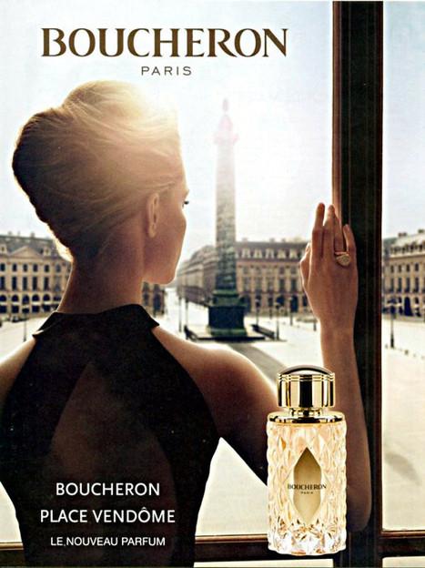 Publicité du parfum Place Vendome de Boucheron | Publicités et parfum | Scoop.it